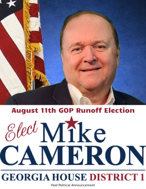 https://www.facebook.com/pages/category/Political-Candidate/Mike-Cameron-GA-House-District-1-105573867734864/