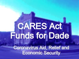 Dade Receives Over $700,000 in State and Federal Funding due to COVID-19