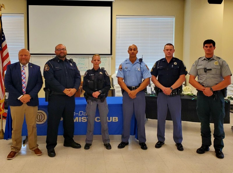Dade County Law Enforcement Officers of the Year for 2020 Announced