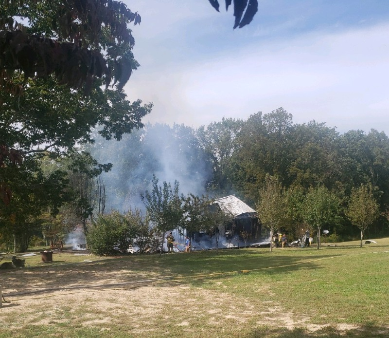 Fire in Davis Community Claims Residence