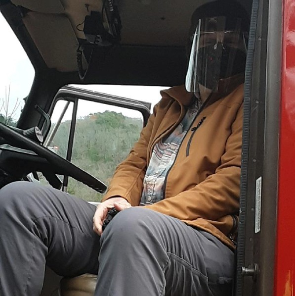 New Home Firefighter Sounds Siren for End of Chemotherapy