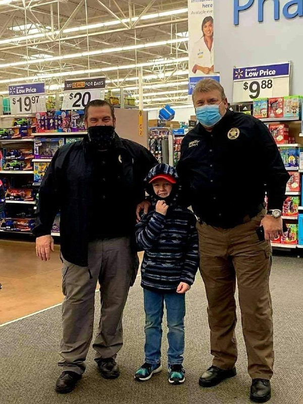 Special Operation by Local Law Enforcement Puts Smiles on Kids' Faces